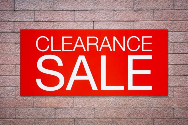 How to make your clearance sales smarter